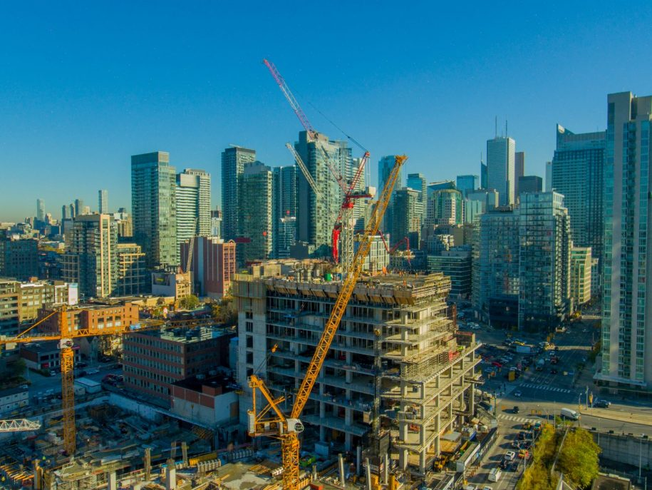 The Well Progressing on Enormous Site at Spadina and Front