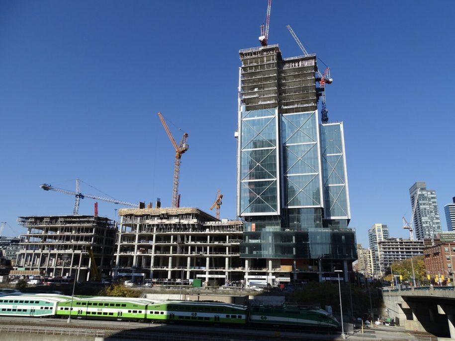 Multiple Towers Now Rising at The Well at Front and Spadina